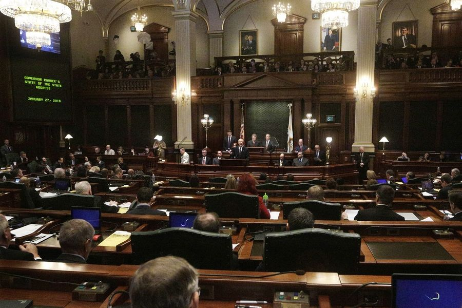 Illinois lawmakers have missed their last two paychecks and might not get their April pay until July.