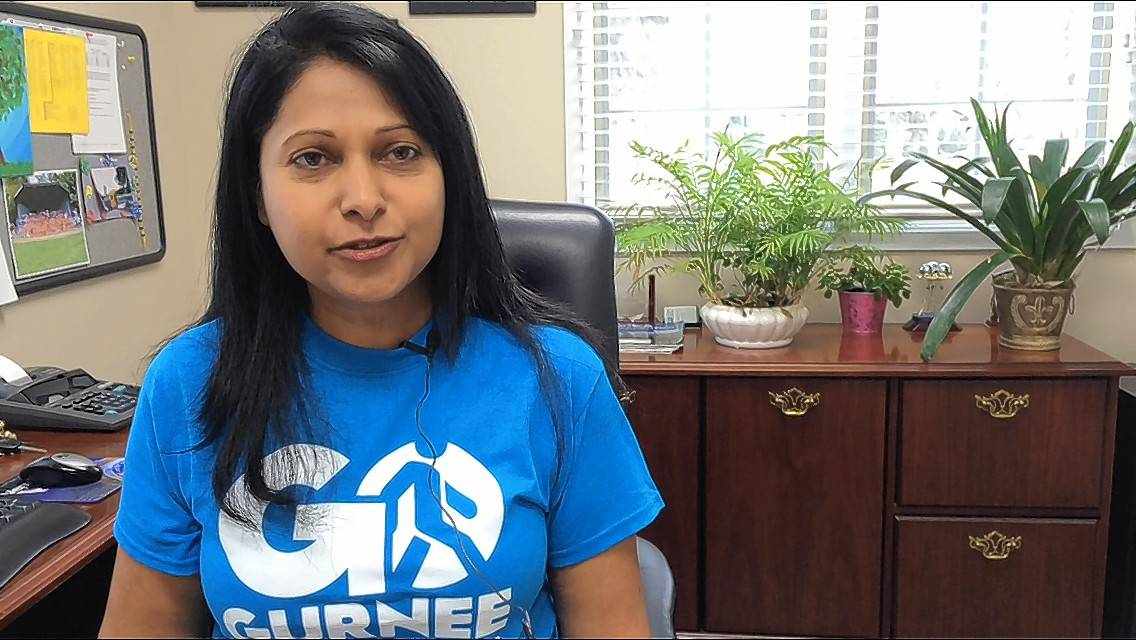 Susie Kuruvilla says she's satisfied with the Go Gurnee walking initiative that began in May.