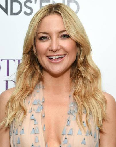 "FILE - In a Thursday, April 28, 2016 file photo, actor Kate Hudson attends the special screening of ""Mother's Day"" at Metrograph, in New York. Kate Hudson has taken advantage of a break in the filming of her next movie to play tourist at Niagara Falls. Hudson spent Wednesday, June 15, 2016, at Niagara Falls, where she took a trip aboard the Maid of the Mist tour boat and visited the Cave of the Winds.Hudson is in western New York for the filming of ""Marshall."" (Photo by Evan Agostini/Invision/AP, File)"