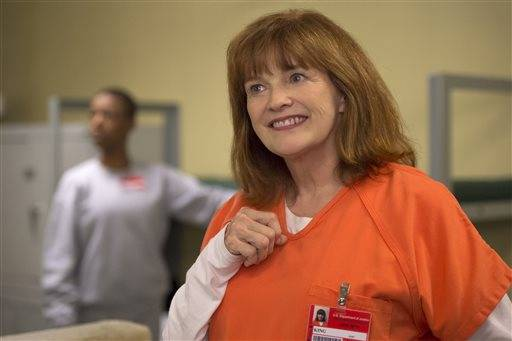 "In this image released by Netflix, Blair Brown appears in a scene from, ""Orange is the New Black."" The fourth season of the popular series will be available for viewing on Friday, June 17. (JoJo Whilden/Netflix via AP)"