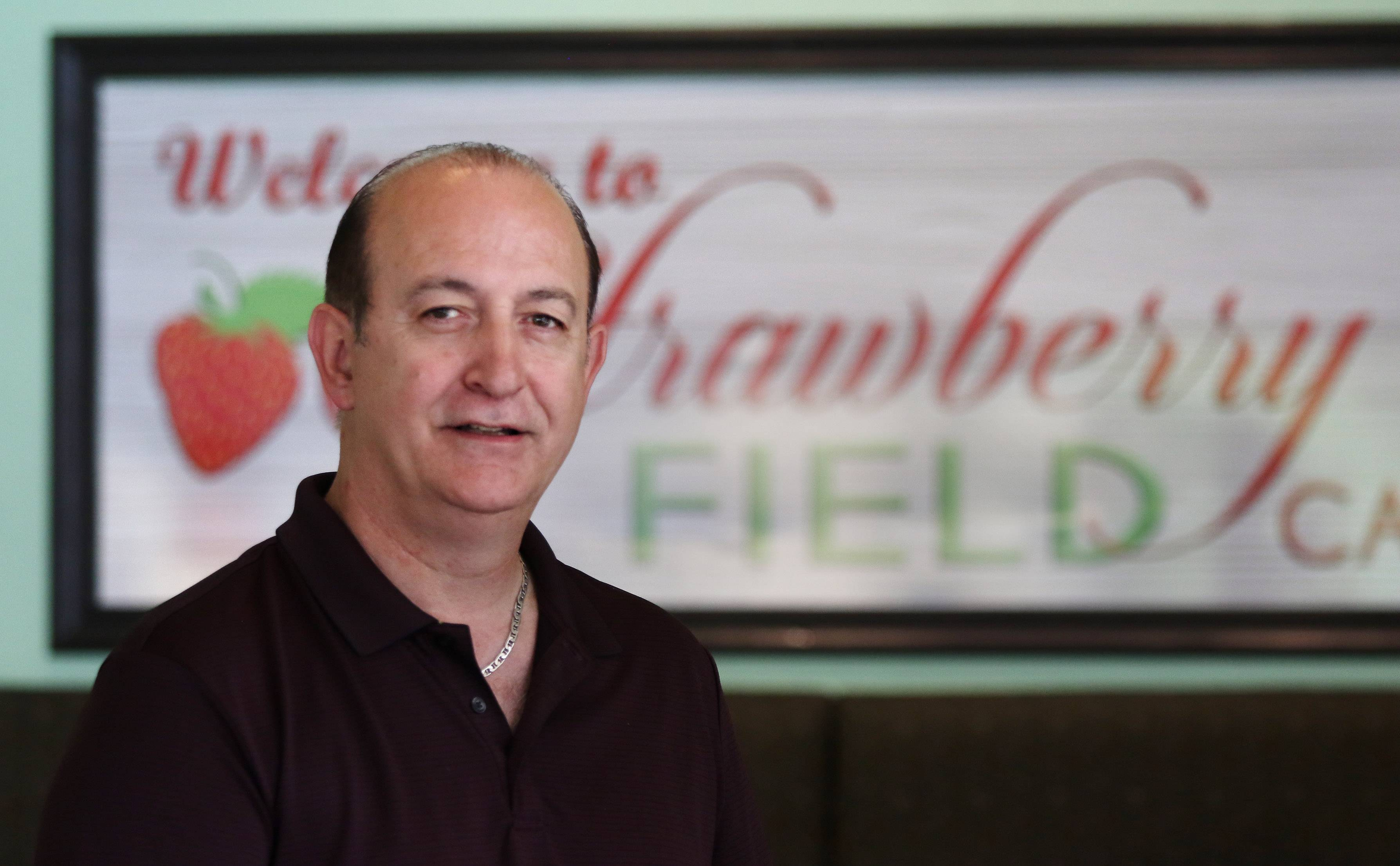 Gus Romas opened his first restaurant nearly 30 years ago. His latest eatery is Strawberry Field Pancake & Cafe in Lincolnshire.