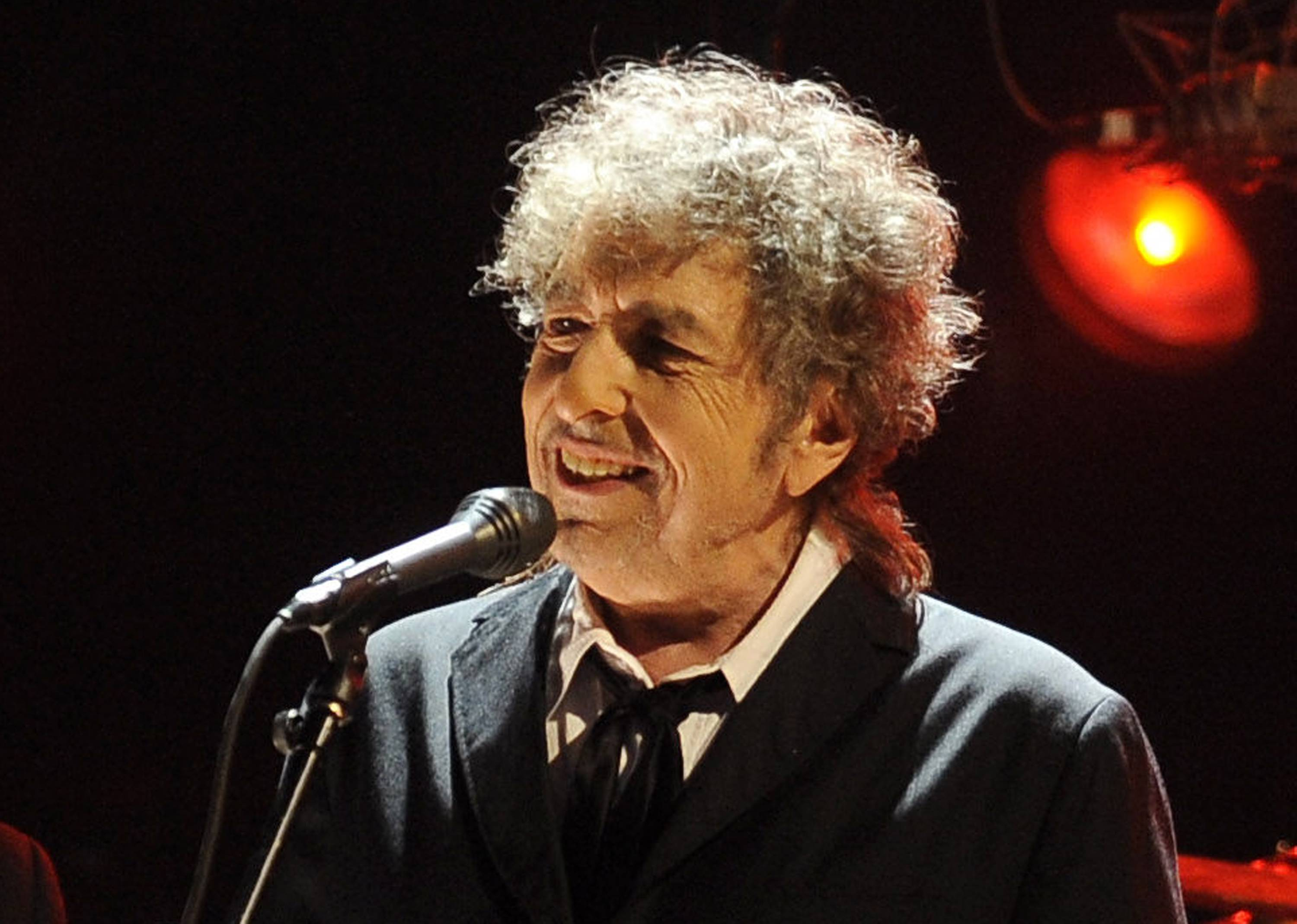 Bob Dylan performs with Mavis Staples at the Ravinia Festival in Highland Park on Friday, June 24.