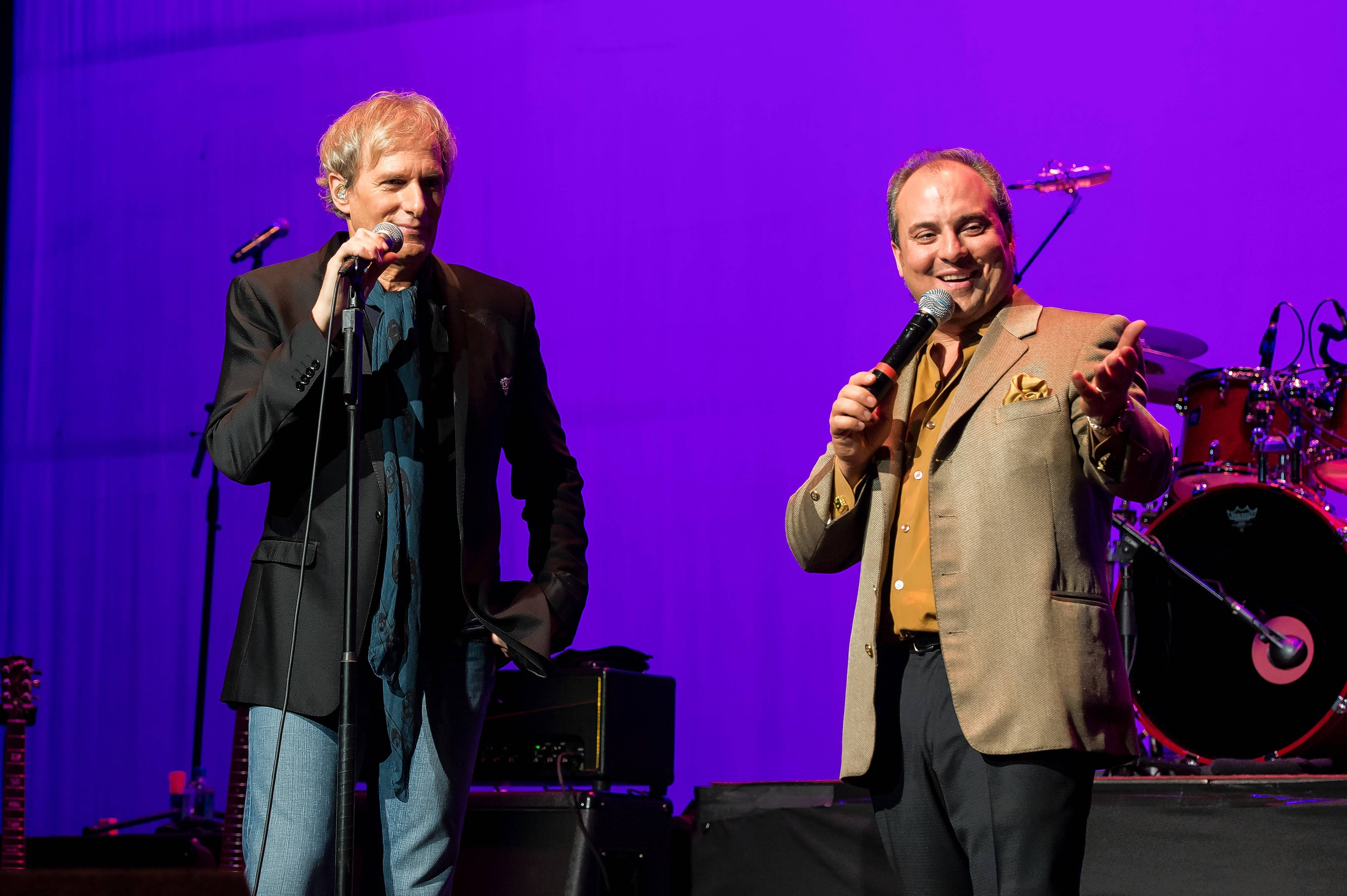Singer-songwriter Michael Bolton, left, will appear Tuesday, June 28, at Ron Onesti's Arcada Theatre.