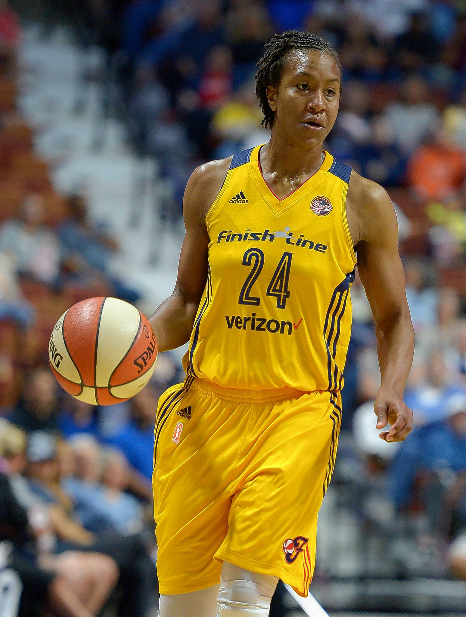 "Indiana Fever's Tamika Catchings is retiring at the end of this season after a 16 seasons in the WNBA. Catchings has created a ""Legacy Tour,"" conducting different special events in each WNBA city to thank the fans."