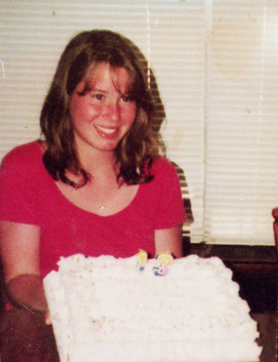 Amber Creek of Palatine at her 13th birthday. She was murdered when she was 14.