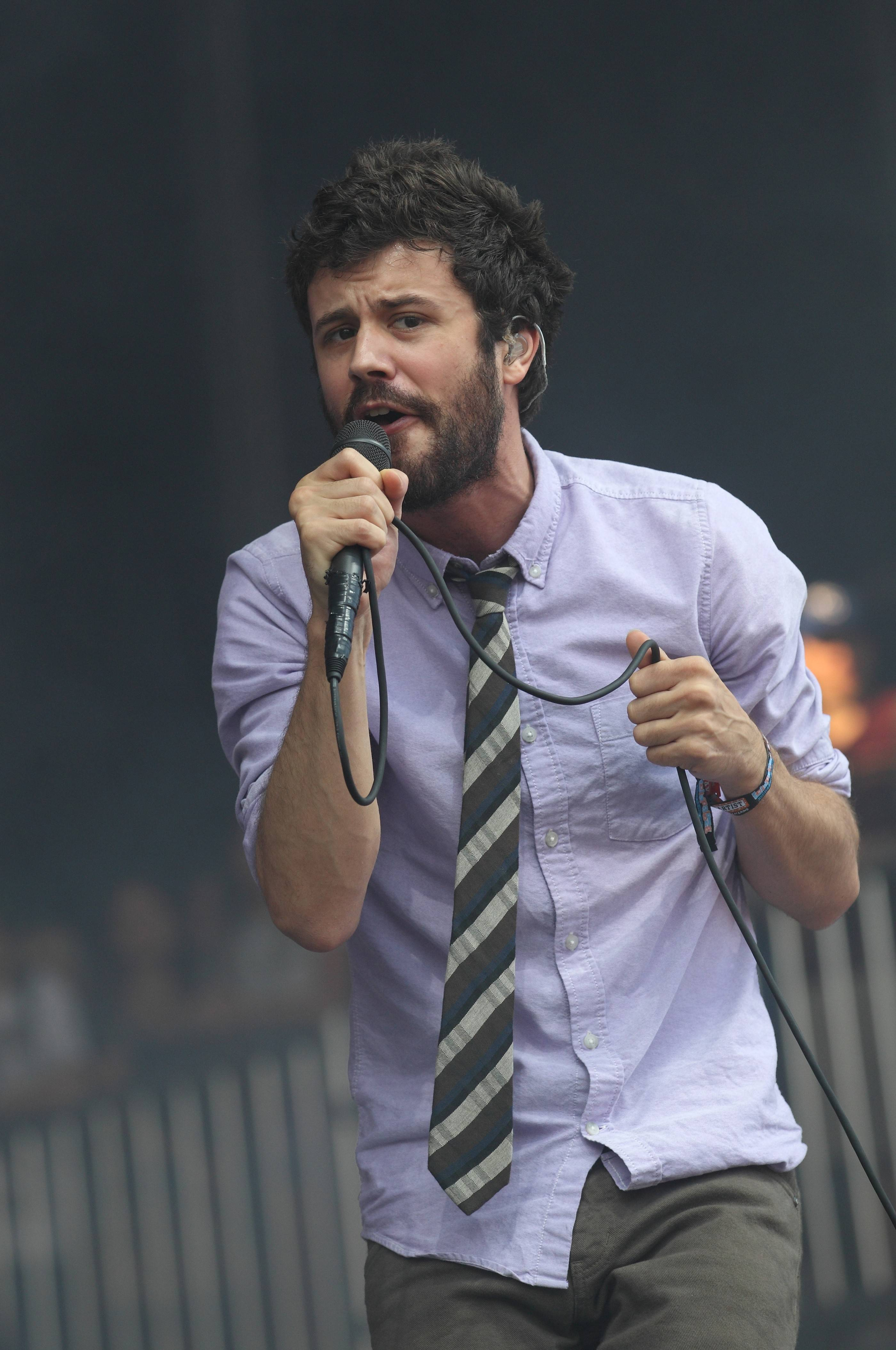 Michael Angelakos and Passion Pit headline the World's Largest Block Party in Chicago Saturday, June 25.