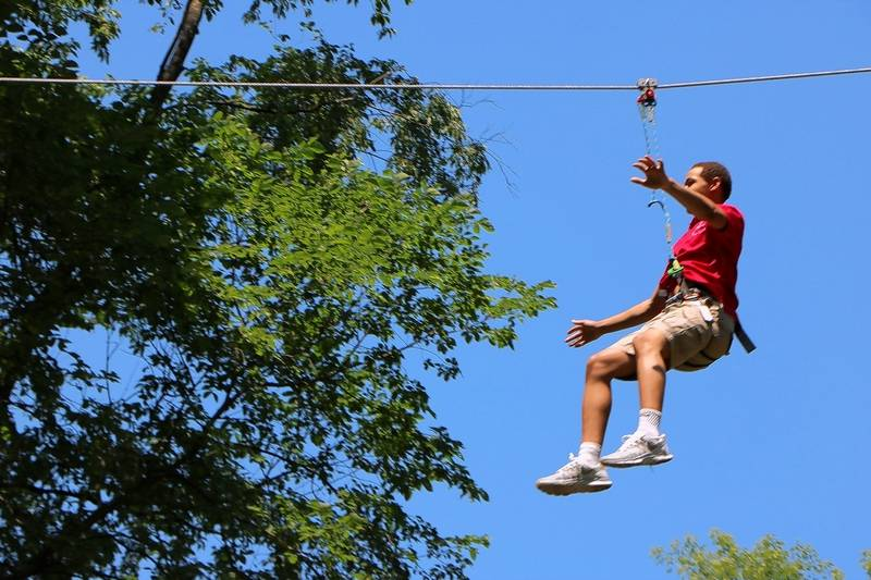 First Zip Line Course In Illinois Opens In Western Springs