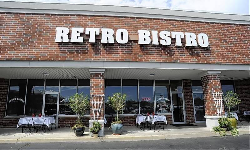 Retro Bistro started in Mount Prospect, pictured, in 1990 and now has a second location in Crystal Lake. Both are owned and operated by Chef Chris Barth.