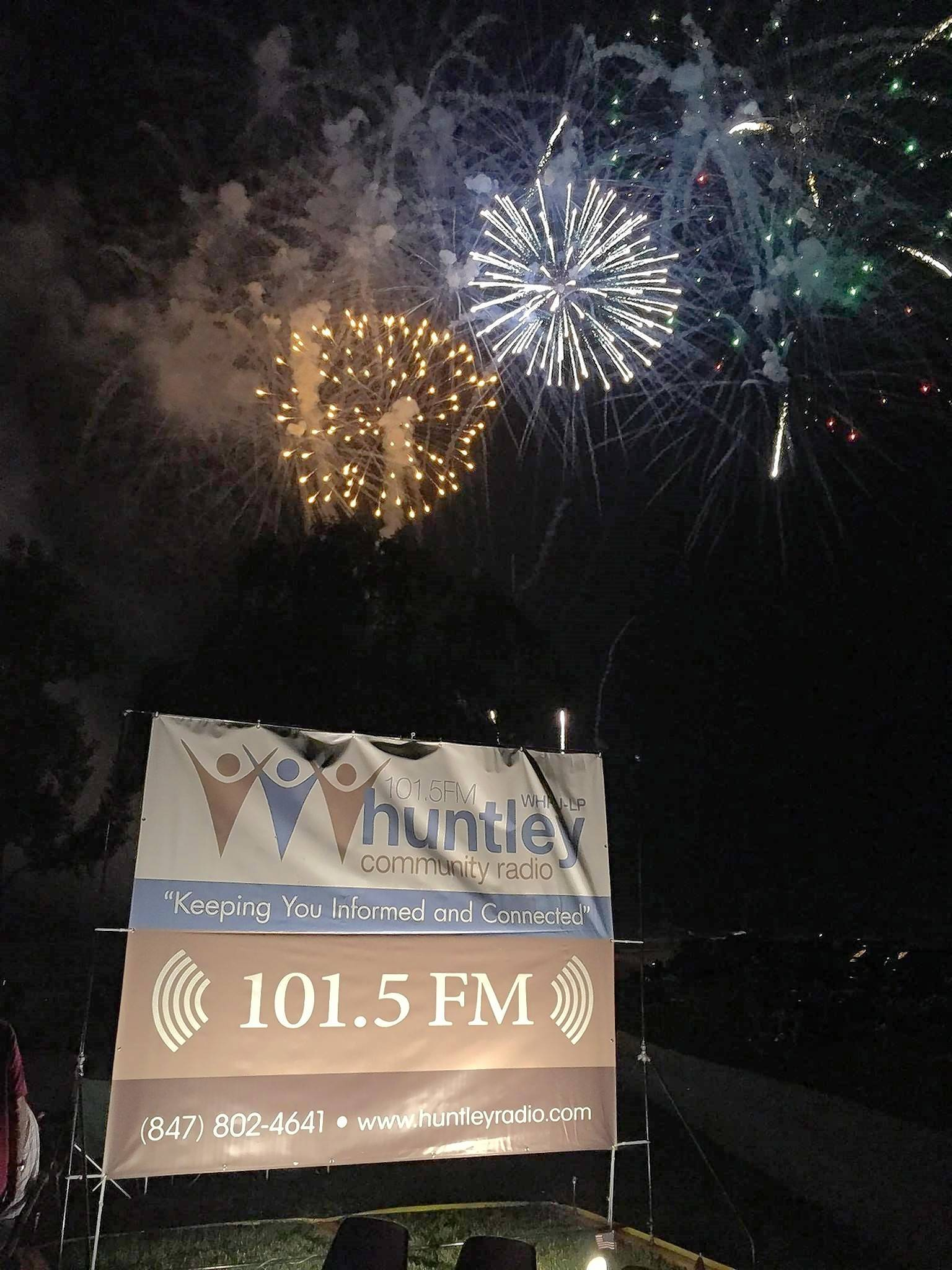 "Huntley Community Radio will celebrate the Fourth of July with music starting at 6:30 p.m. Friday, July 1, and continuing through Huntley's ""Party in the Park"" on Monday, July 4."