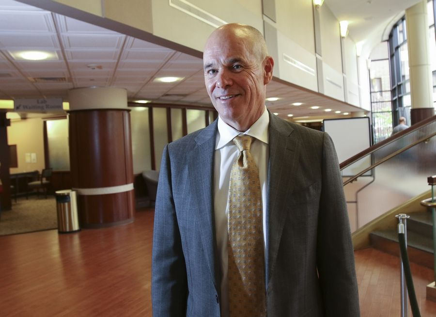 Bill Kottmann of Naperville becomes president and CEO of Edward Hospital on Friday after working in various leadership roles since 1991. He says the hospital will focus on improving preventive health, increasing technology use and expanding options for patient convenience.