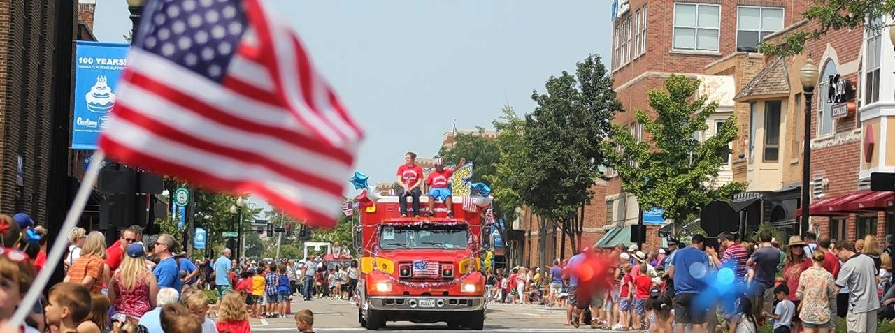 The Wheaton Independence Day parade is scheduled to begin at 10 a.m. on Monday, July 4. It will step off from the corner of Hawthorne Boulevard and Main Street and end at the corner of Cross and Front Streets.