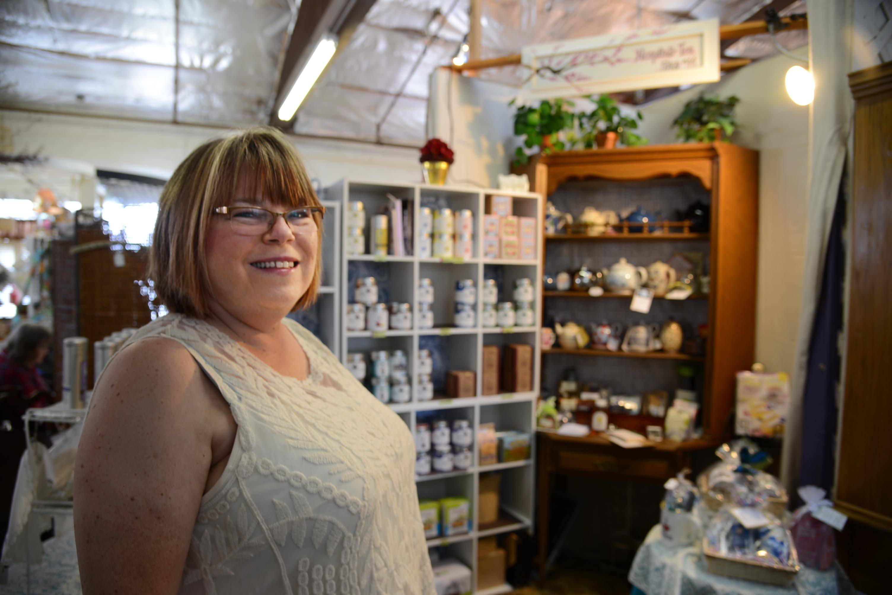 Kay Morrisroe, owner of HospitaliTea at State Street Market Shops in Elgin, took part in the first Elgin Area Small Business Academy. A second one starts in January.