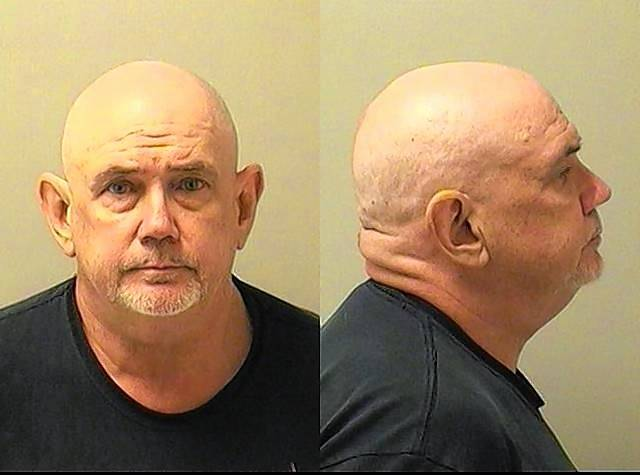 Robert E. Jaeckel is accused of growing 112 marijuana plants in his basement.