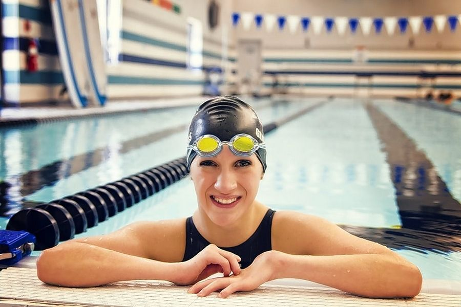 Alyssa Gialamas is ready to hop in the pool Thursday, Friday and Saturday in North Carolina during the U.S. Paralympic Swimming Trials. She'll compete in four events in hopes of making the team for the Rio Paralympic Games.