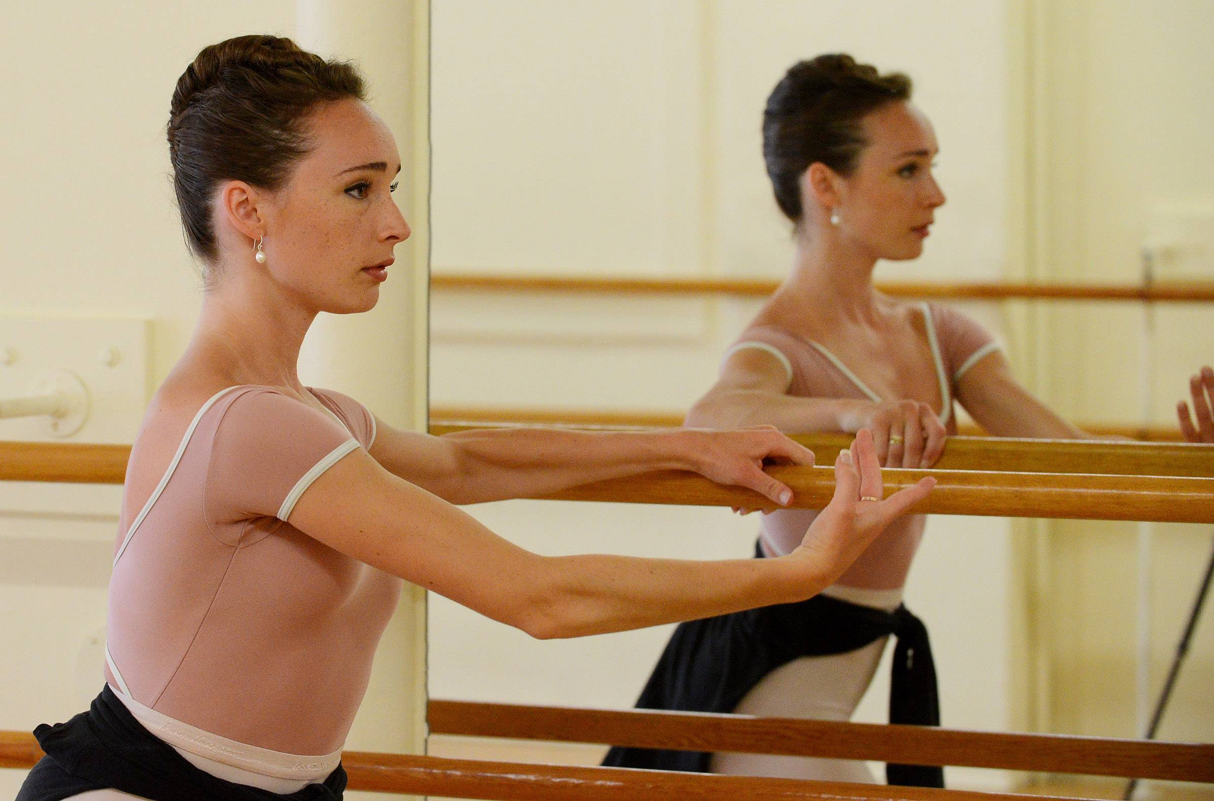 Crystal Lake ballerina dances way into Juilliard