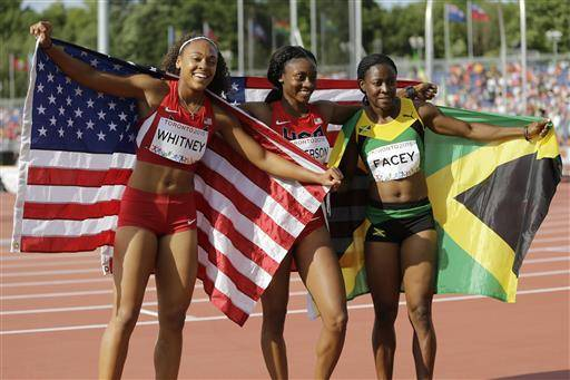There's a youth movement underway in US track