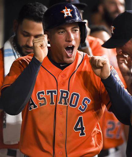 Gomez Hits 2-run Homer To Help Astros Over White Sox 5-0