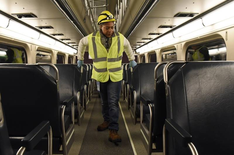 top mechanical foreman tim baker who retired june 1 has a mid - Coach Cleaner