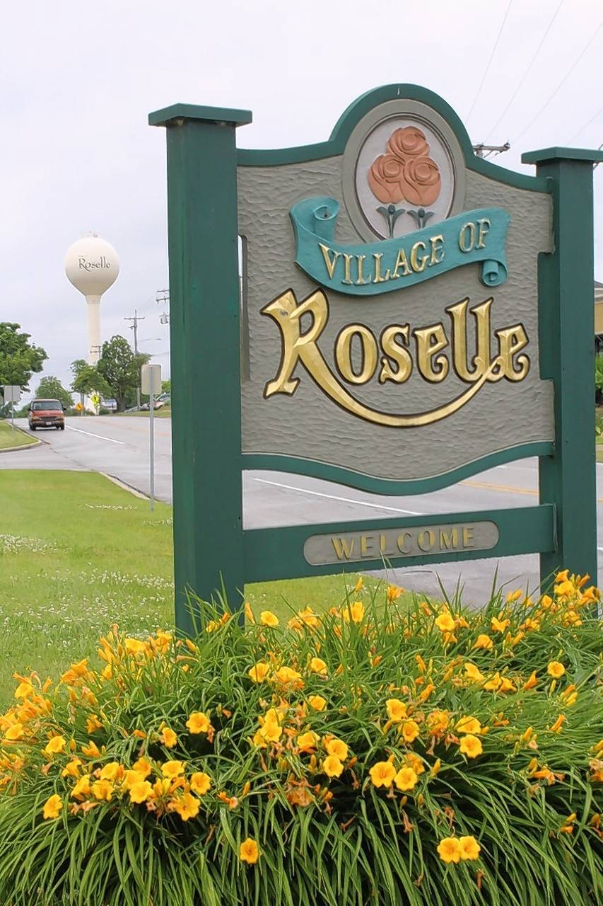 Many drivers pass through Roselle daily on Irving Park Road. The village covers about 5.5 square miles and is home to about 23,000 people.