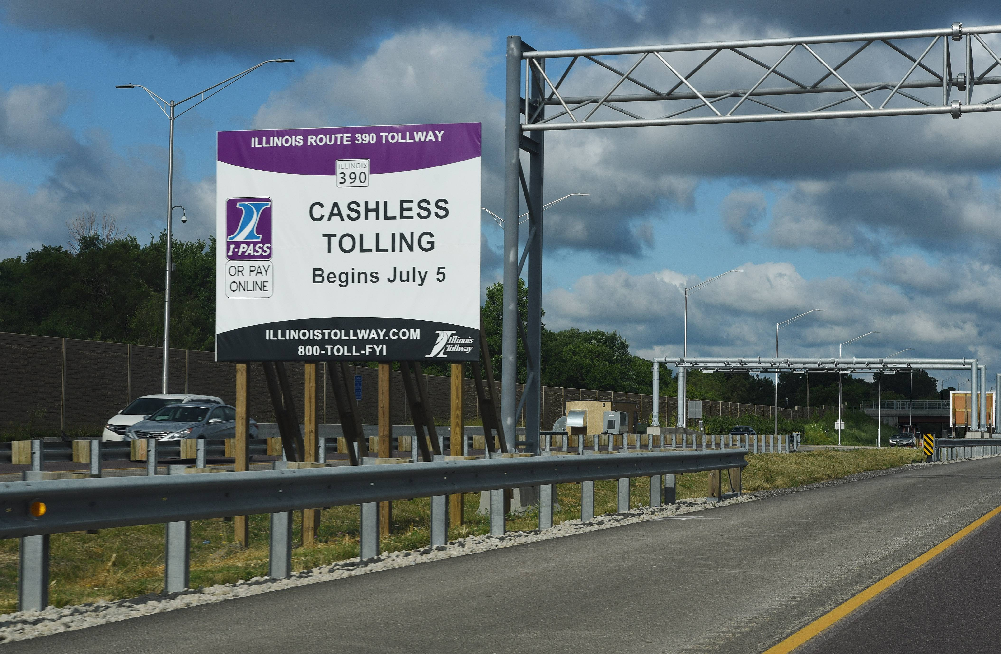 Elgin-O'Hare Expressway tolls start today