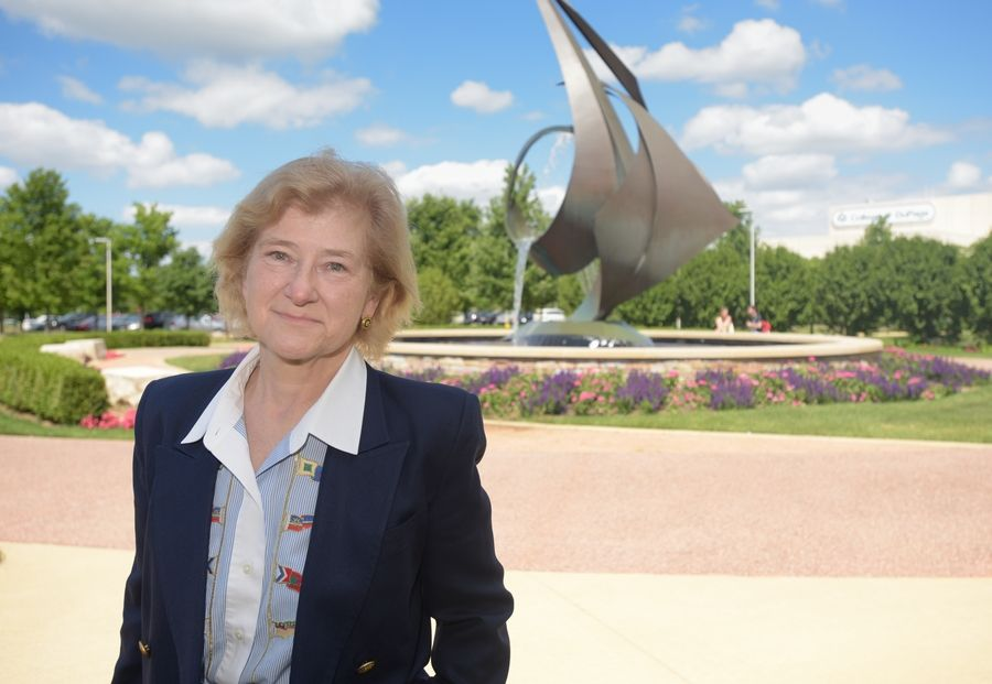 A retired Navy vice admiral, new College of DuPage President Ann Rondeau knows what it's like to be asked to turn around a troubled organization.