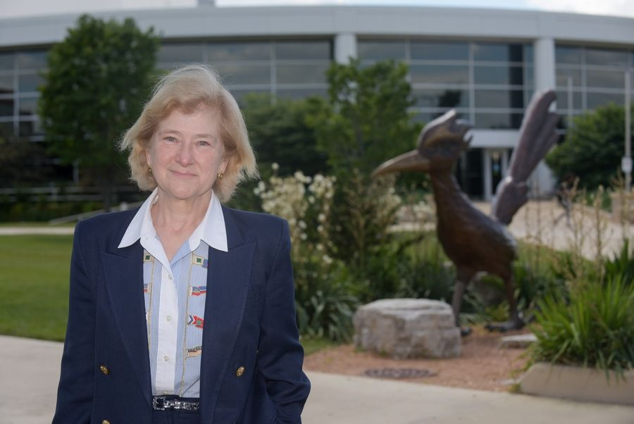 Ann Rondeau, the new president of the College of DuPage, has 38 years of experience in military and educational roles, including as deputy commander of the U.S. Transportation Command in Illinois and commander of the Naval Personnel Development Command in Virginia.