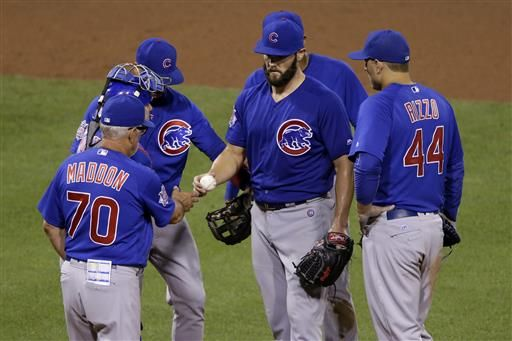 7968177e247 Arrieta unable to hold lead as Cubs fall 8-4 to Pirates