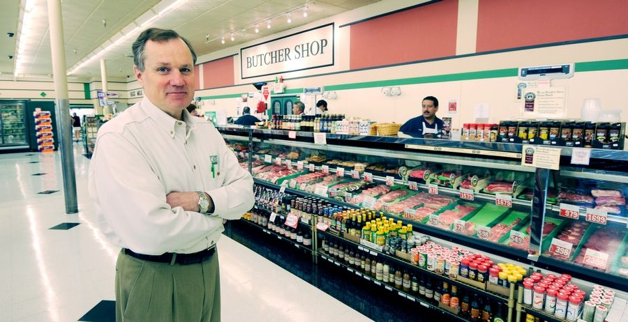 Dan Casey is president of Casey's in Naperville, which is marking its 25th anniversary this year.
