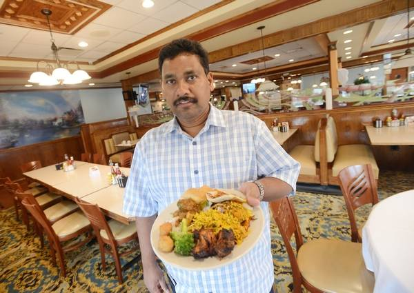 Ruchi Restaurant Co Owner Ravi Thota Gathered This Meal From The Indian Buffet At