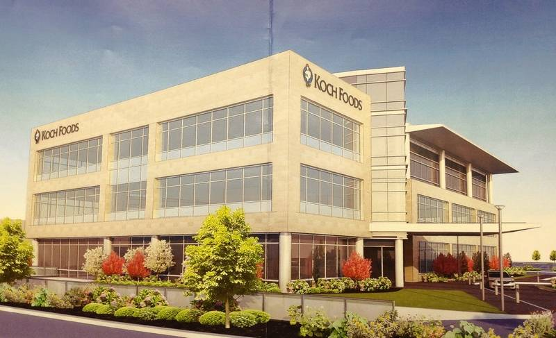 Koch foods pulls out of rosemont development for Estimated building costs per square foot