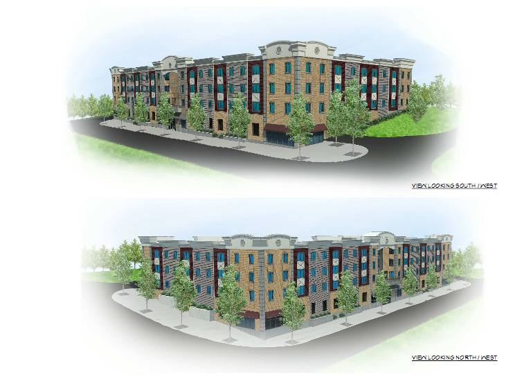 Buckeye Community Hope Foundation of Ohio wants to build a four-story, 60-unit residential senior living facility at 300 N. State St. in Elgin.