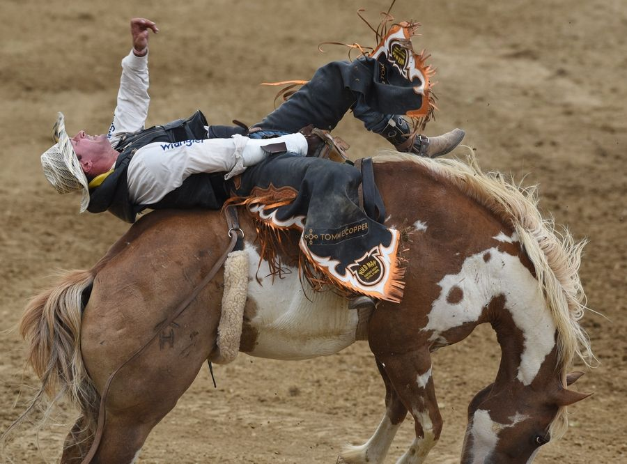 The hardest part about rodeo riding? Everything