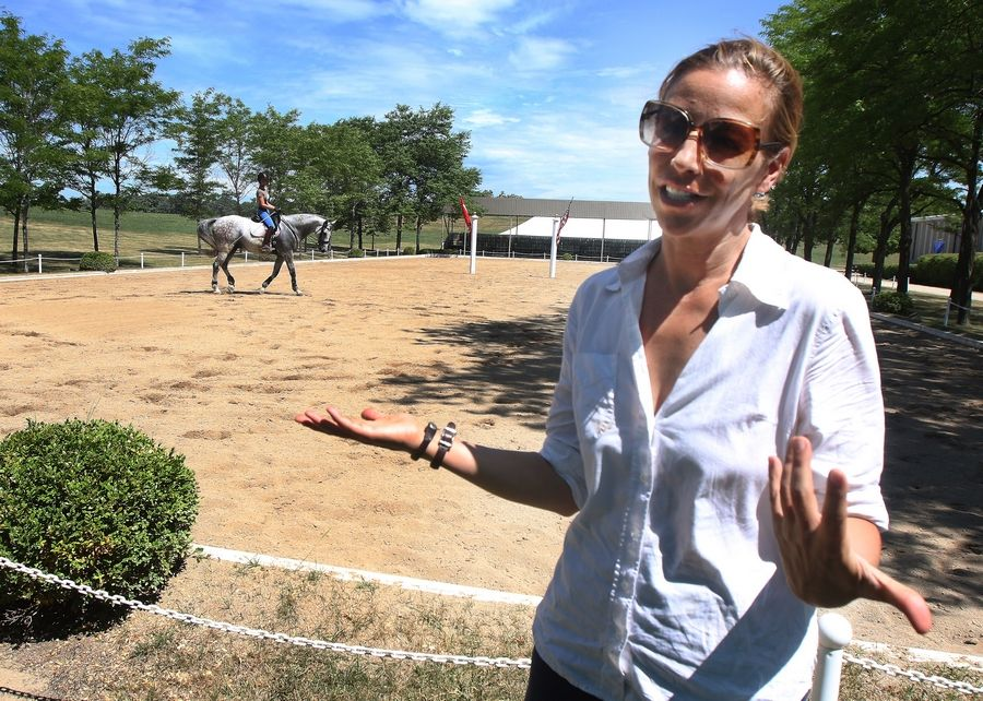 """It was a letdown in some ways, but also a relief,"" Tempel Farms Program Director Esther Buonanno said. Had Chicago won its bid for the Olympics, a stadium would have been built for equestrian dressage, eventing and jumping at Tempel Farms in Wadsworth."