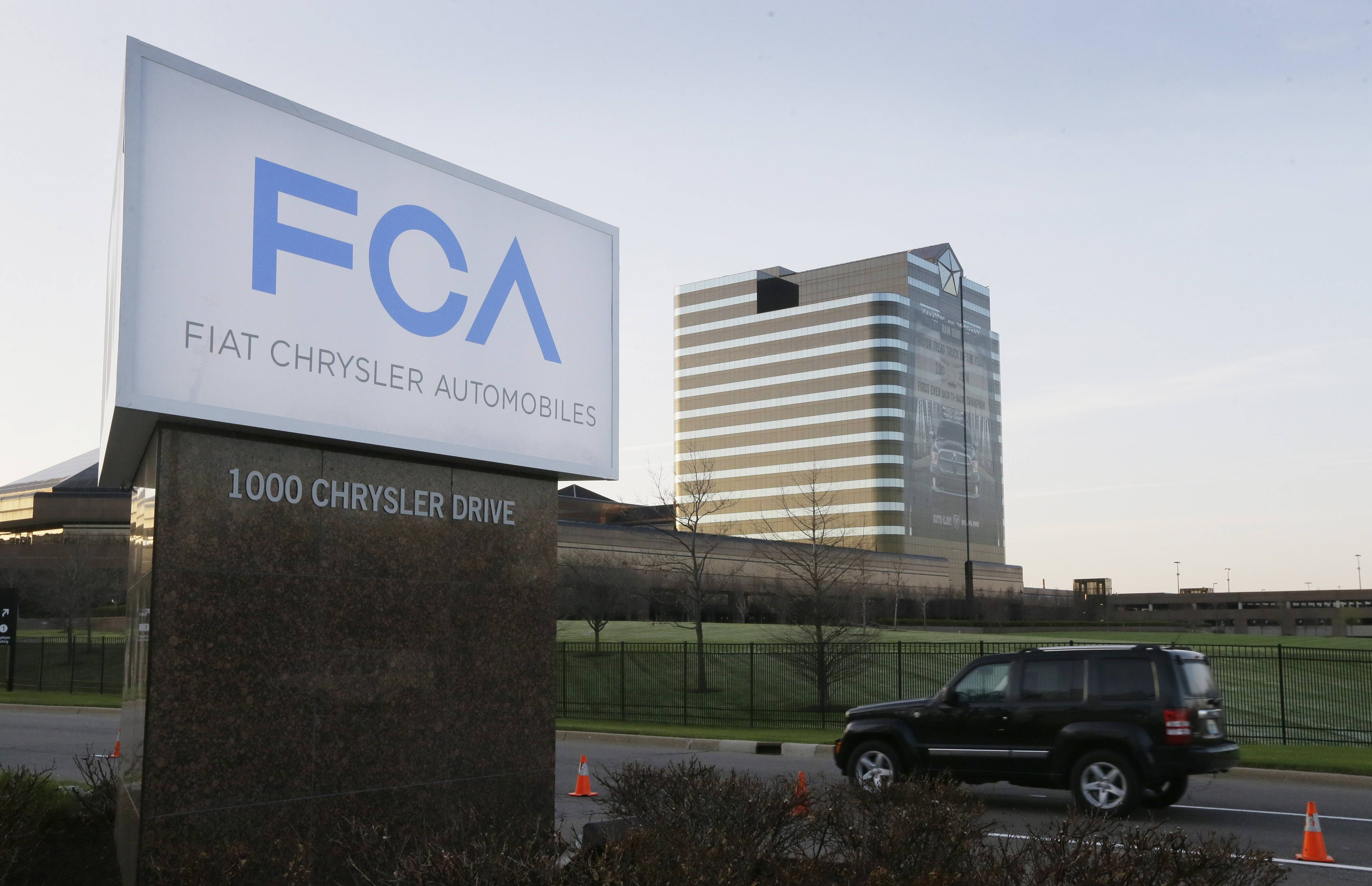 Justice Department looking into Fiat Chrysler sales reporting
