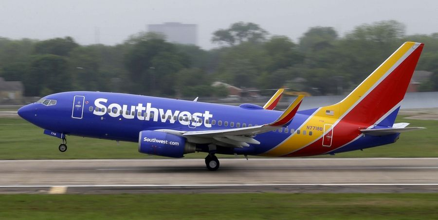 Southwest Airlines is having to ground or delay flights because of computer problems.