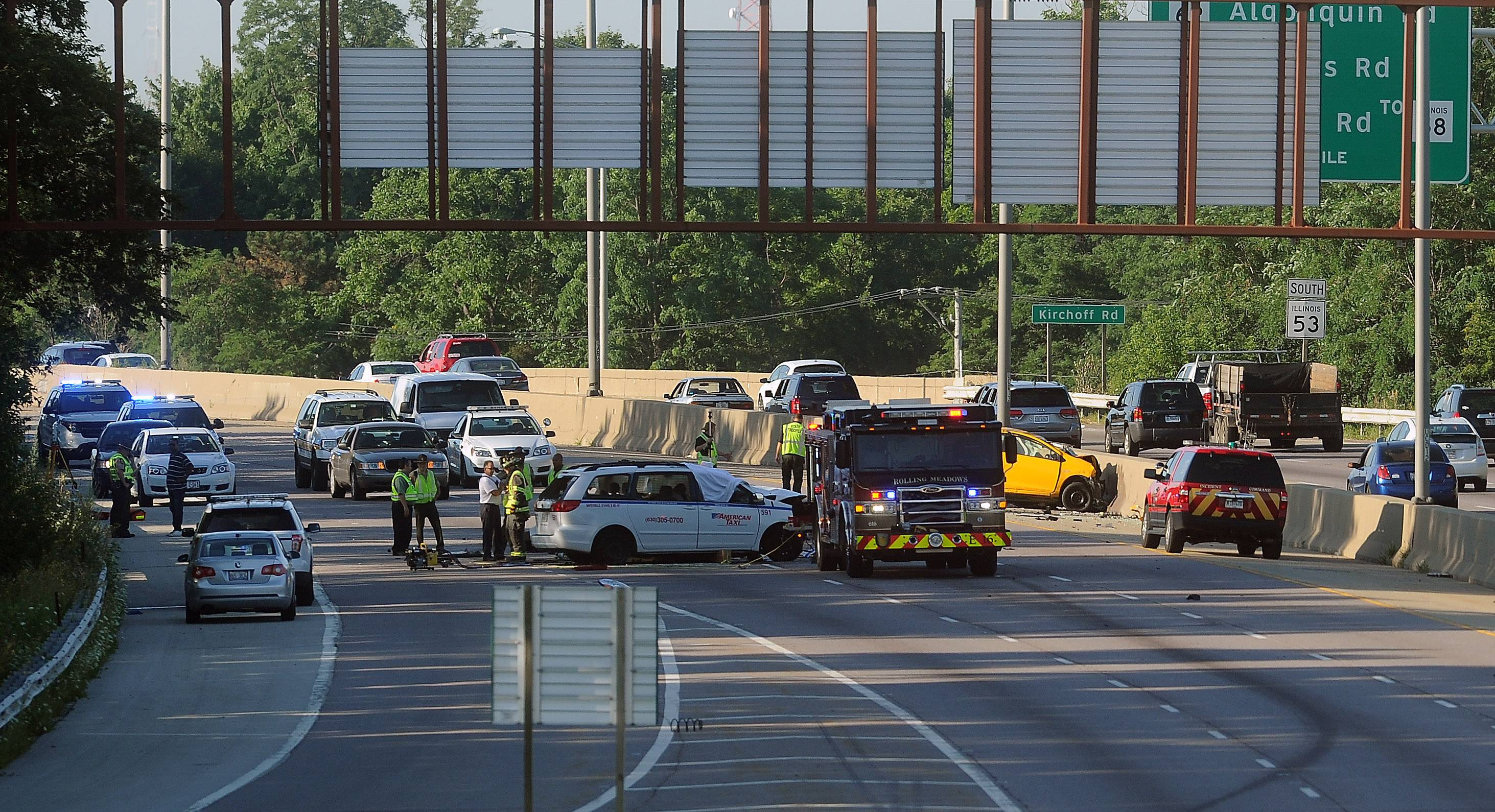 Dawn Patrol: What witnesses saw before Route 53 head-on collision