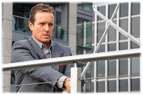 "Kincaid (Linden Ashby) aims to turn American gamers into an ""absolute controlled militia."""