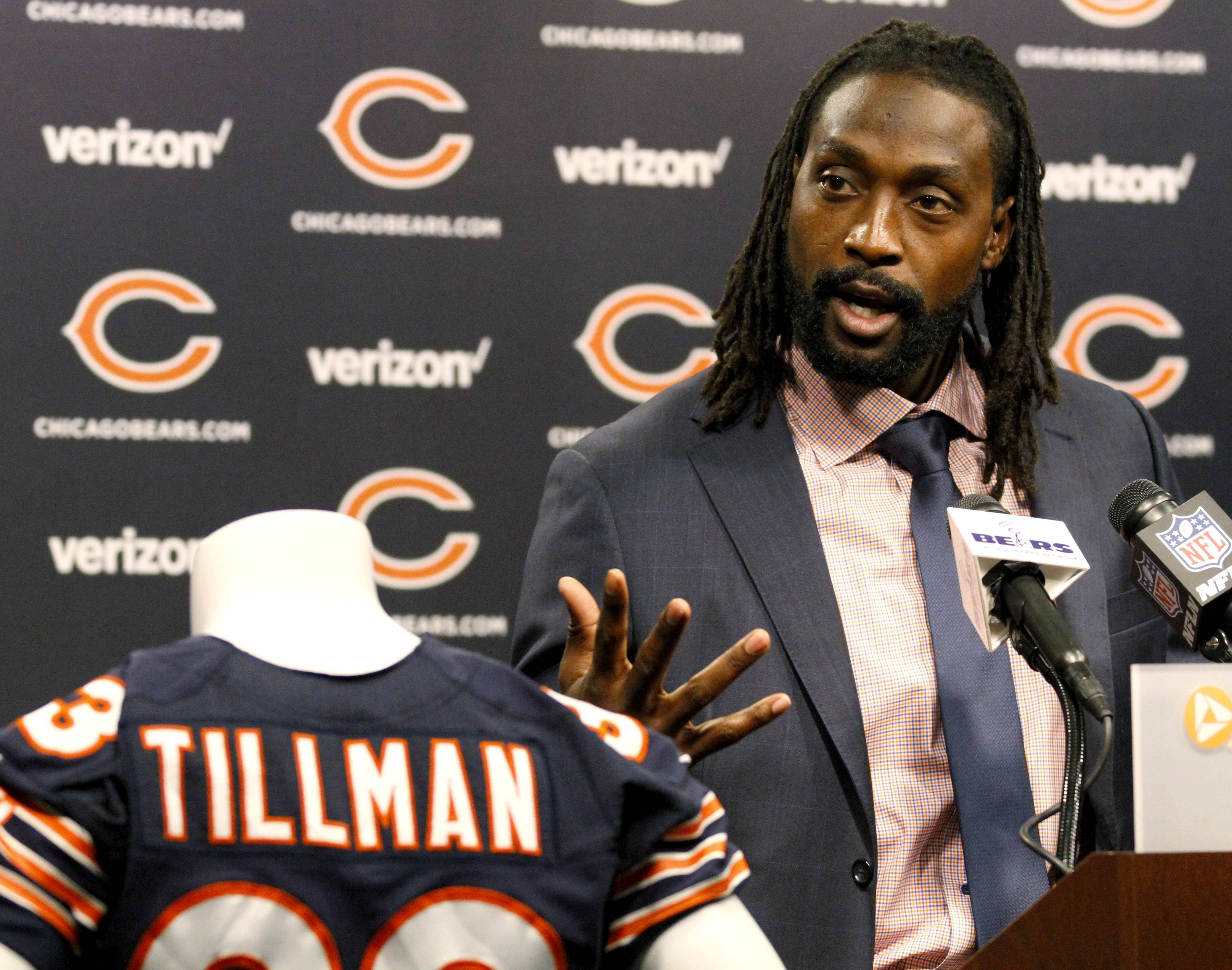 "Recently retired Charles ""Peanut"" Tillman, probably the greatest cornerback in Bears history, says it took a group effort to elevate him to that level. He mentioned a few of those responsible when he returned to Halas Hall to sign a one-day contract Friday so he could formally retire as a Bear,"
