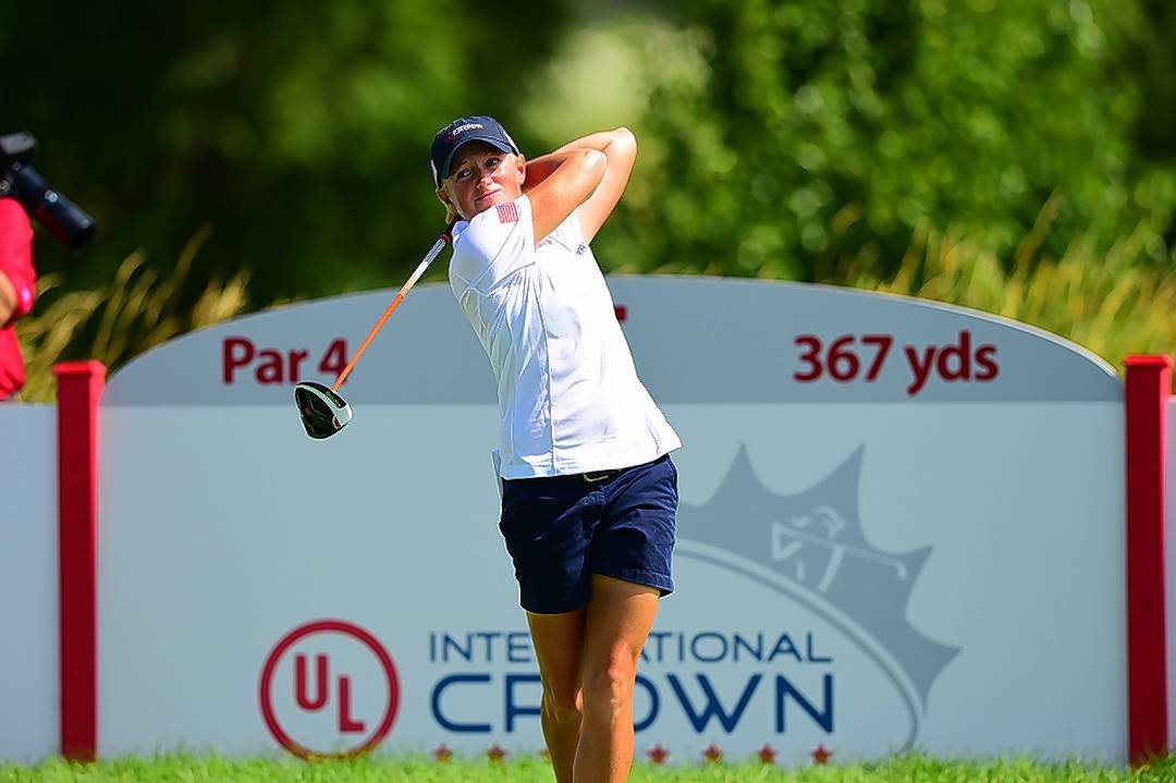 "Team USA bounced back from a disastrous first day at the UL International Crown on Friday, taking 3 points from Thailand. ""We've still got some work to do tomorrow, but as a team we're moving in the right direction,"" Stacy Lewis said. ""We've got to get four points, and we'll be right where we need to be."""