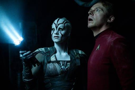 """Star Trek Beyond"" has landed atop the weekend box office."