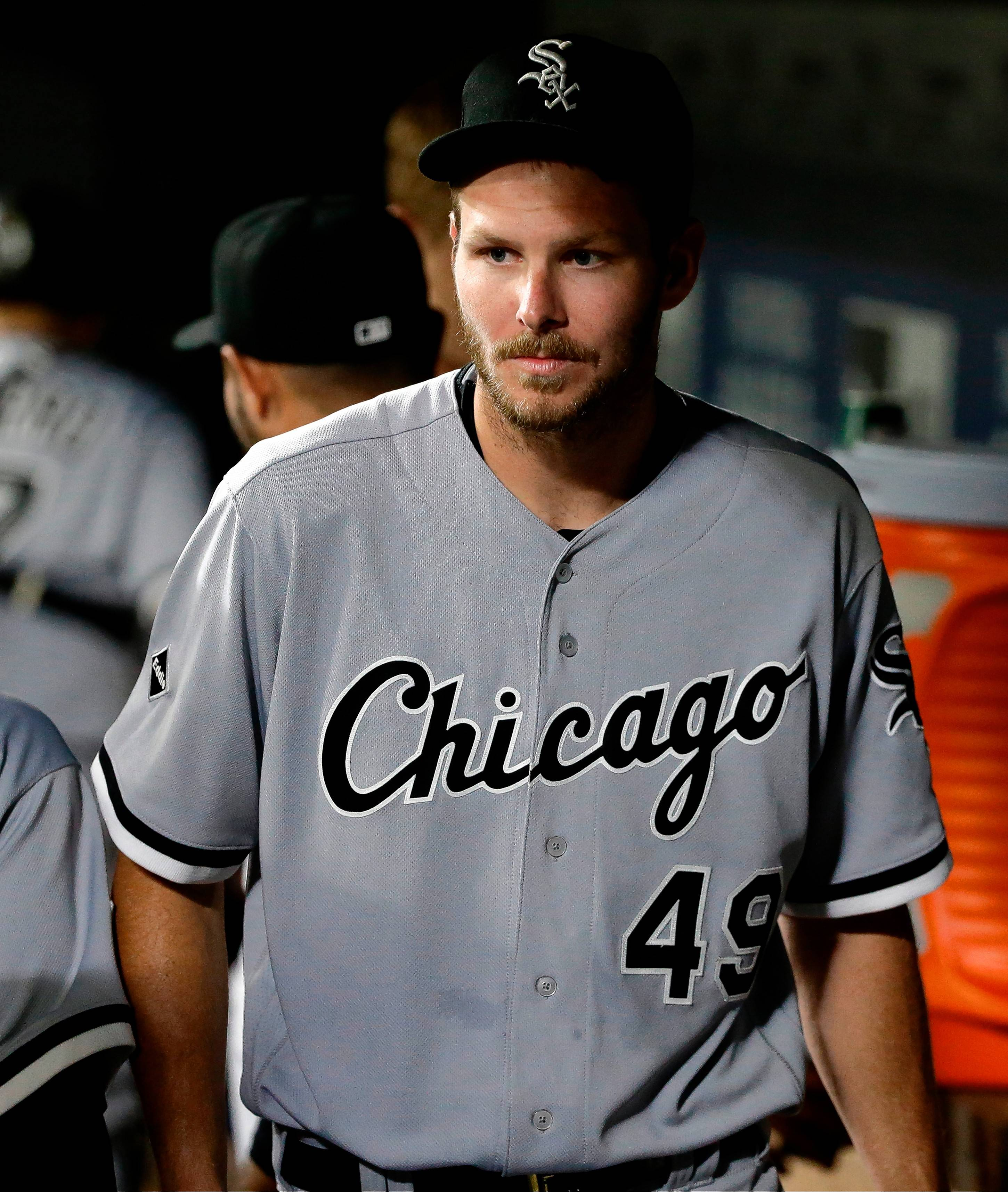 Suspended White Sox pitcher Chris Sale will return Thursday.