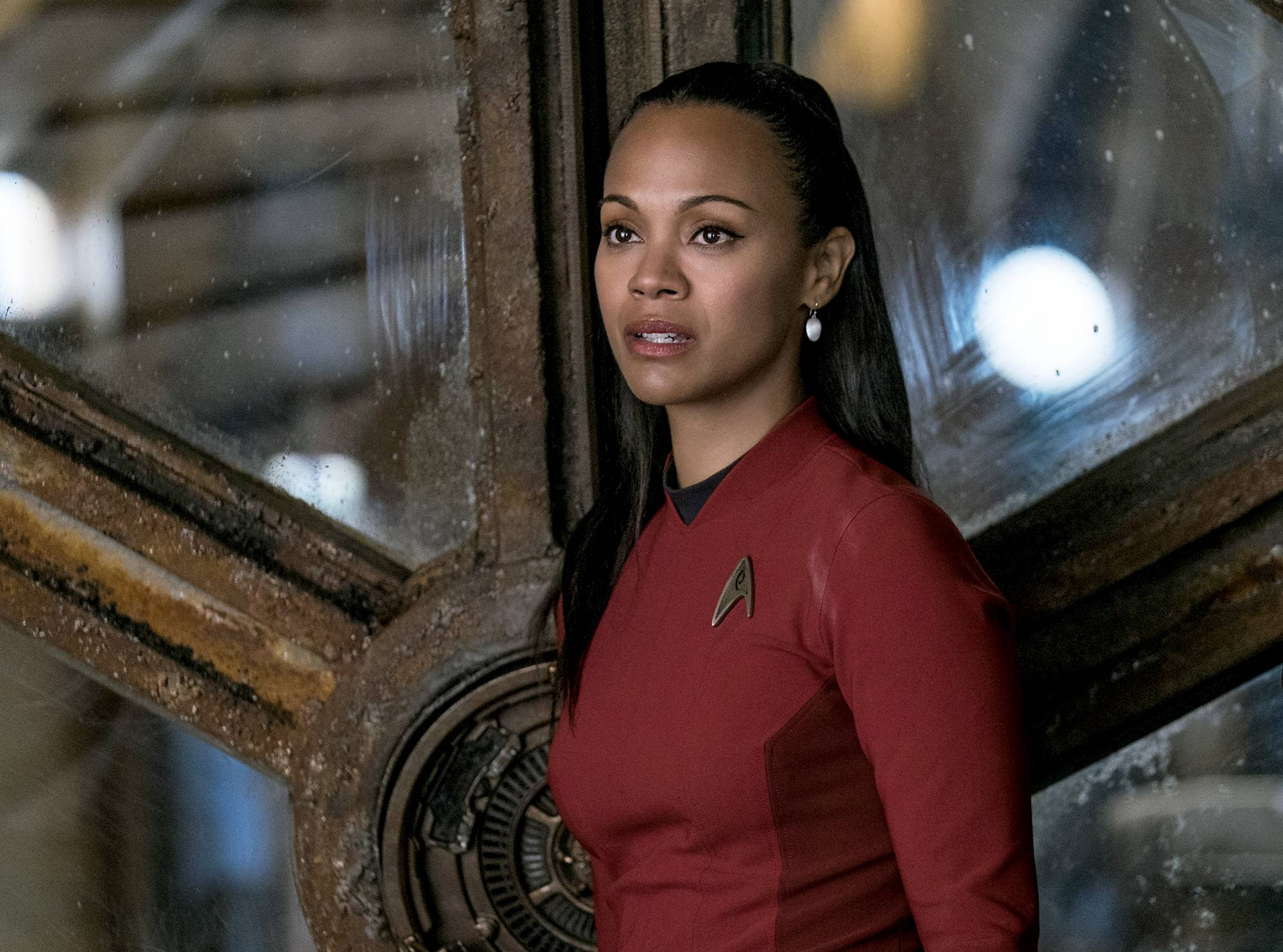 "Paramount Pictures/Kimberley French Zoe Saldana, plays Uhura in ""Star Trek Beyond,"" has made it her mission to make sure women are equal and relevant in the rebooted ""Star Trek"" universe."