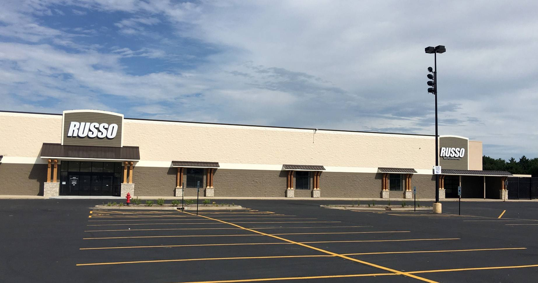Russo Power Equipment has moved in to the former Wal-Mart location on Randall Road in Elgin.