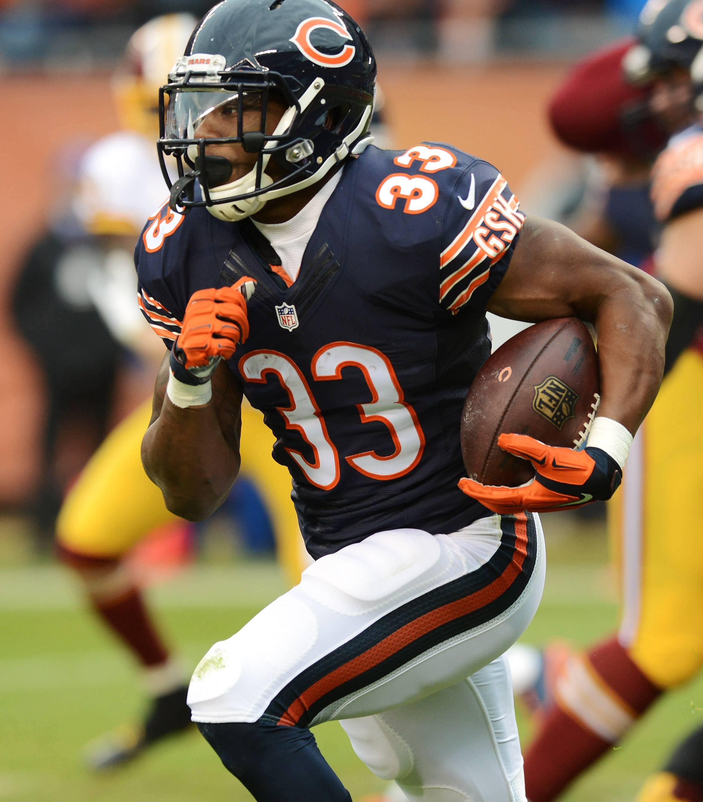 Jeremy Langford will open training camp as the No. 1 running back, but the Bears have several contenders available to help carry the load left behind by Matt Forte.
