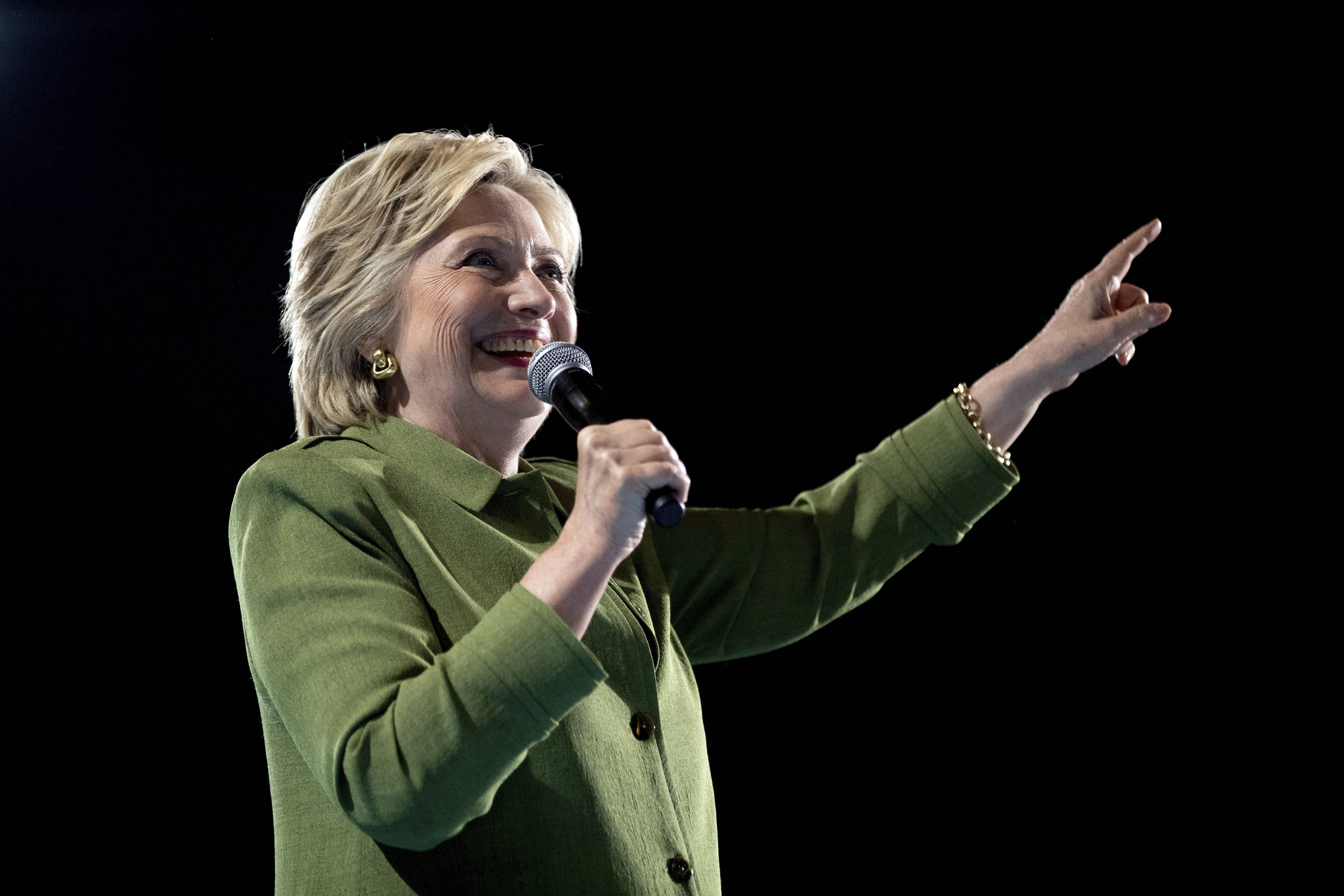 Democrats make history: Clinton their first female presidential nominee