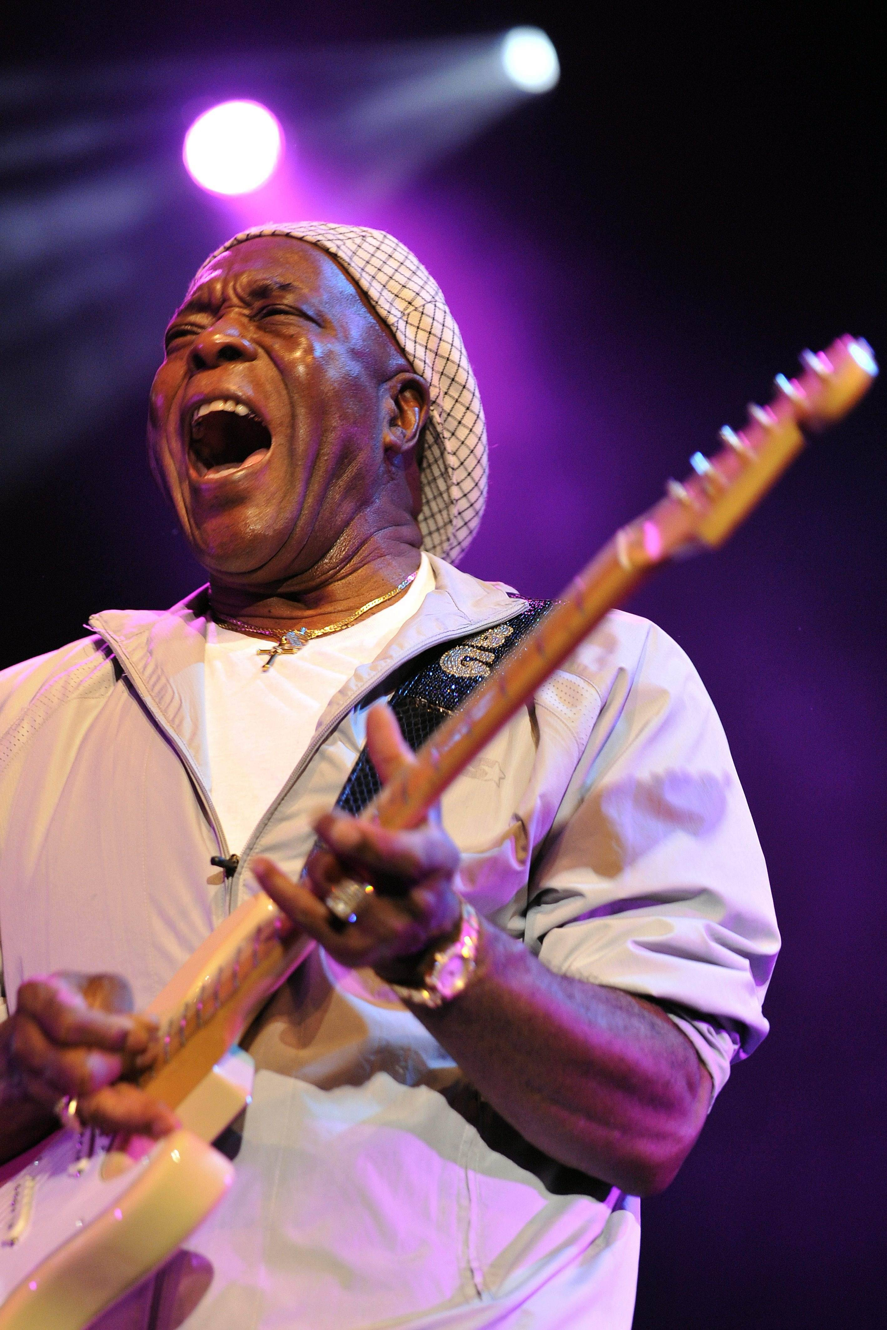 Bluesman Buddy Guy takes the Ravinia stage with Jeff Beck Sunday, July 31.
