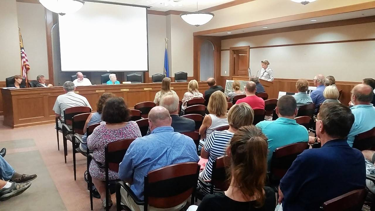 Barrington neighbors, developer asked to compromise on townhouse plan