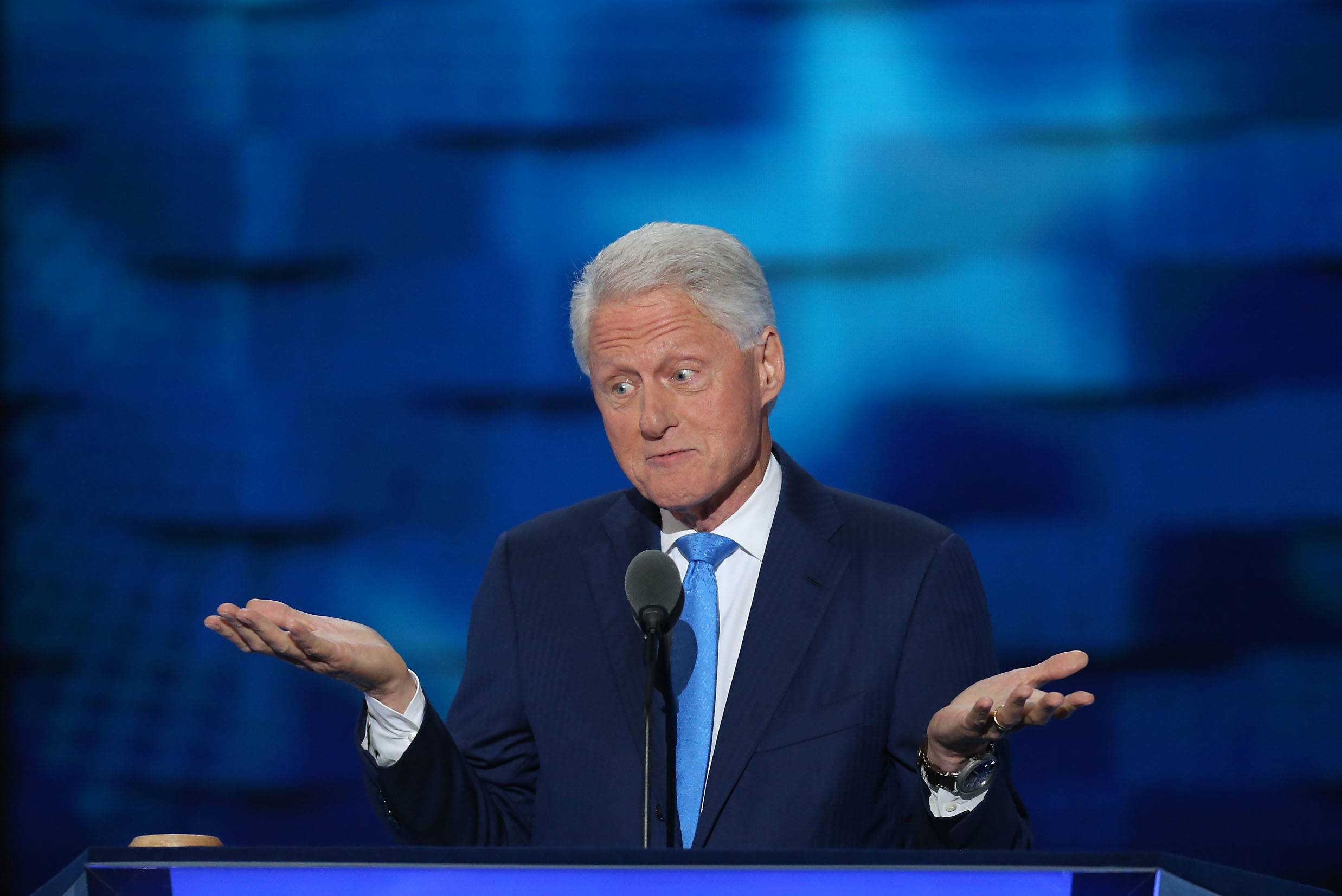 Former U.S. president Bill Clinton talked about Park Ridge in his convention speech Tuesday.