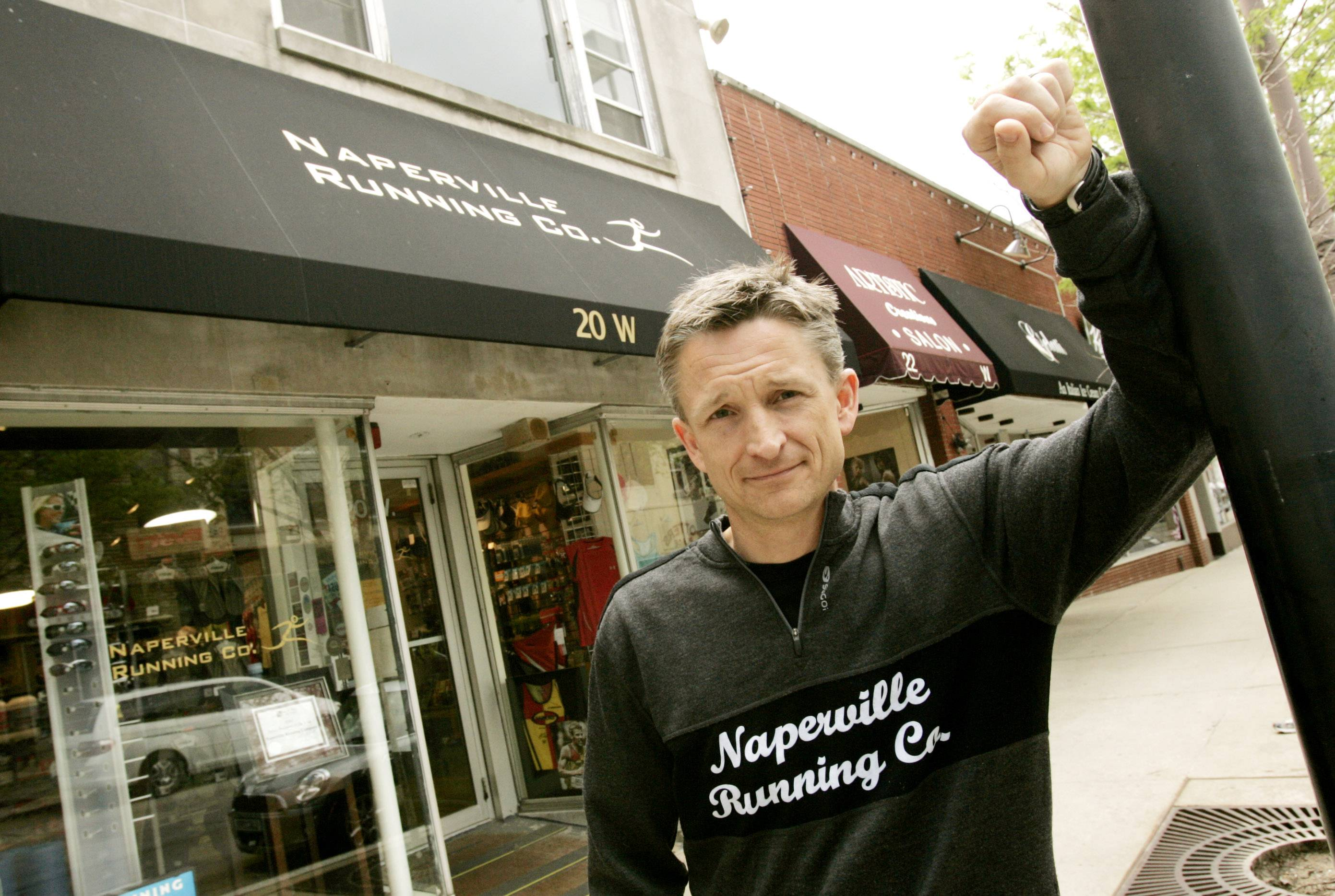 Naperville Running Company owner Kris Hartner is excited to open a third store in downtown Wheaton later this year. The shop will be housed in the former train depot on Front Street, between Hale and Main streets.