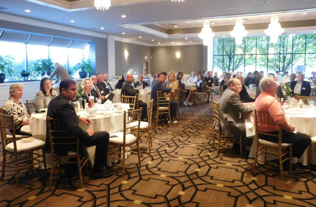 The Lake Zurich Area Chamber of Commerce breakfast meeting Thursday.
